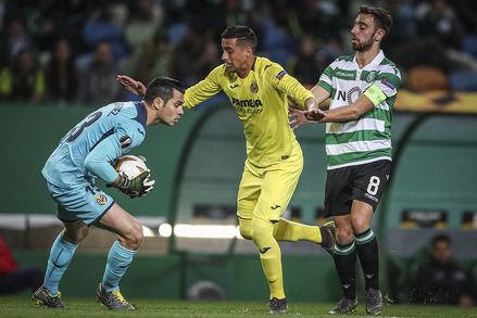 Sporting x Villarreal - Europa League 2018/2019 - 1/16 de Final  | 1ª Mão