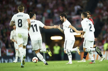 Athletic x Real Madrid - Liga Espanhola 2018/19 - Campeonato Jornada 4