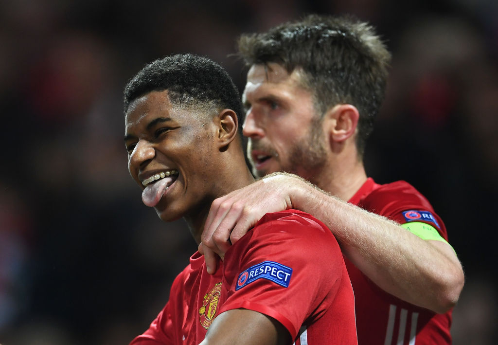 Marcus Rashford, Michael Carrick