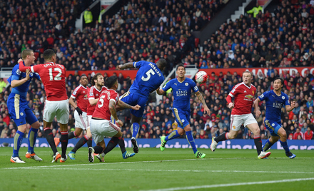 Manchester United x Leicester - Premier League 2015/16
