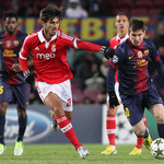 Barcelona v Benfica Champions League 2012/13