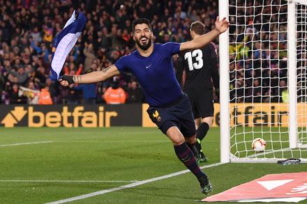 1c09b4ab0bbf4 Barcelona x Atlético Madrid - Liga Espanhola 2018 19 - Campeonato Jornada 31