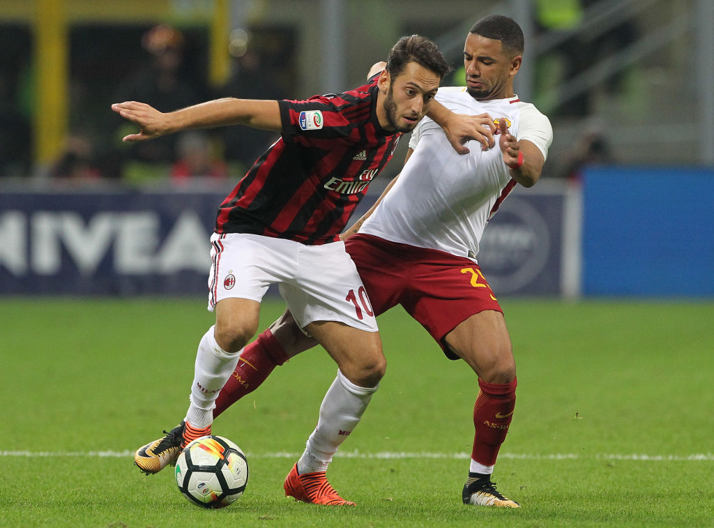 Milan x Roma - Serie A 2017/2018 - CampeonatoJornada 7