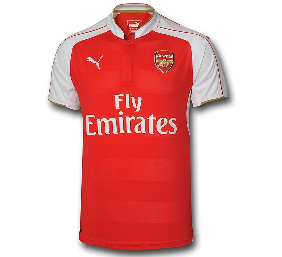 Arsenal - Uniformes da temporada 2015 16    Fotos    ogol.com.br 98ae0e446ea63