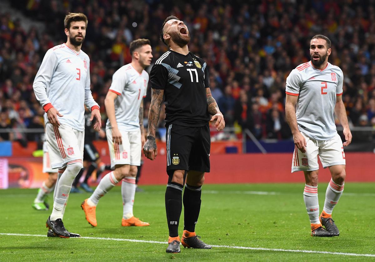 Espanha x Argentina - Jogos Amigáveis 2018 - Jogos Amigáveis ... 1779ff5c39b8d