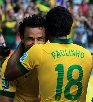 Brasil vence o Uruguai e está na final da Copa das Confederações