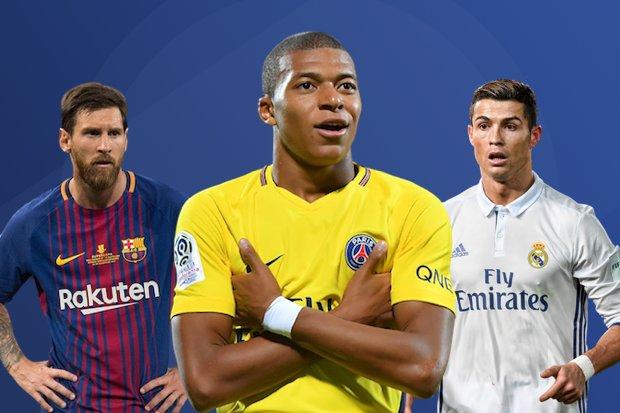 c0febd1cbe Mbappé completa 19 anos com números de dar inveja a Cristiano Ronaldo e  Messi