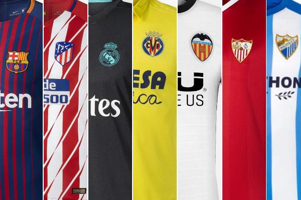 9ae39e7ff8b4e Os uniformes dos 20 clubes do Campeonato Espanhol    ogol.com.br
