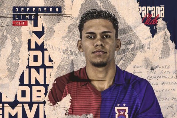 Inter empresta Jeferson Lima ao Paraná    ogol.com.br 2ed32dcfbb9f4