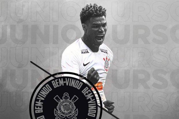 Corinthians oficializa contratação de Júnior Urso    ogol.com.br f658b3156ef00