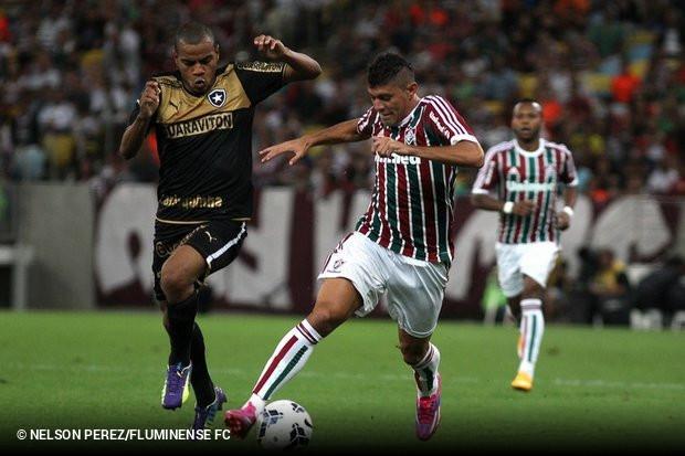 dc187c8f10 O Fluminense vai brigar até o fim pela Libertadores. Este foi recado  deixado neste sábado