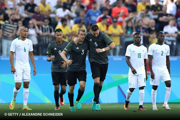 A Alemanha é o último obstáculo do Brasil na busca do ouro inédito nas  Olimpíadas. A seleção alemã bateu a Nigéria 1ff1758fa32d4