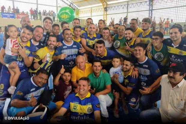 3cb97ad097b57 Quem olha hoje para o futsal brasileiro de elite pode não entender a  importância do Nordeste para o esporte. Na Liga Futsal