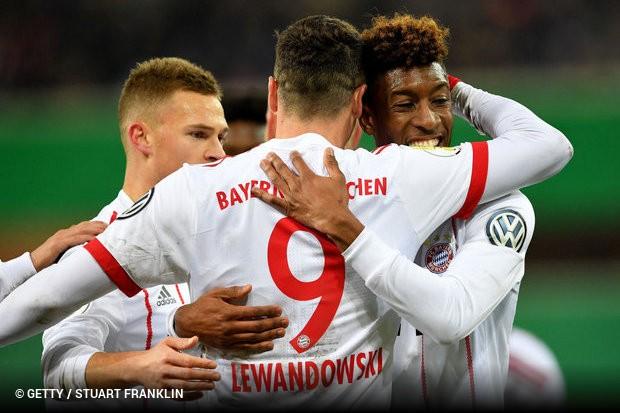 d3792a89c7 O Bayern de Munique avançou com tranquilidade para a semifinal da Copa da  Alemanha