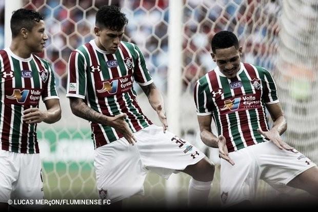 9d25b70a1d O Fluminense aproveitou um rival de olho na Libertadores para conseguir uma  goleada no clássico. Na Arena Pantanal
