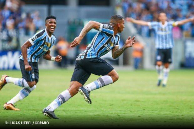 9bc82f5723 Assim foi o Grêmio contra o Internacional em sua Arena. Com grande atuação  no segundo tempo e Jael inspirado