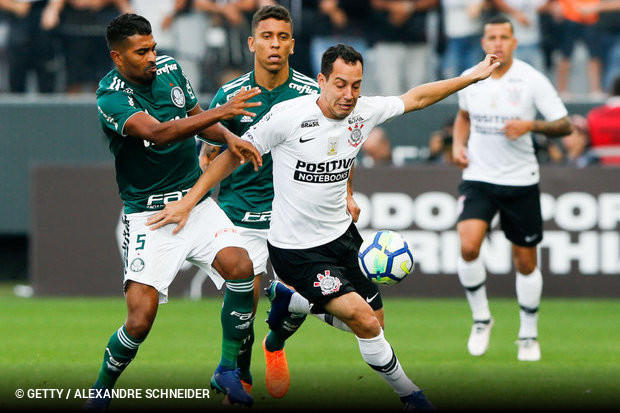 O Corinthians mais uma vez comemorou ao fim de um Derby Paulista. Depois do  título no estadual sobre o Palmeiras 2c896d5d700ce