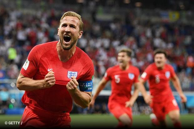 335e50c21b Inglaterra contou com o oportunismo de Harry Kane para começar a Copa com  vitória. Apesar de não ter jogado bem no segundo tempo