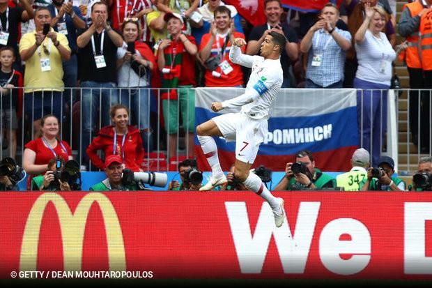 Cristiano Ronaldo voltou a marcar e Portugal venceu a primeira na Copa do  Mundo da Rússia 7d42d42330cf4