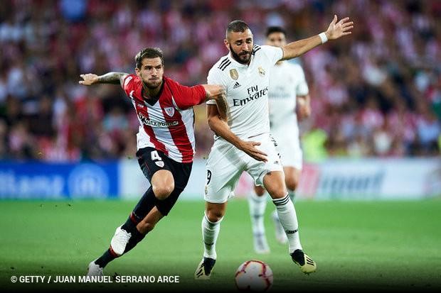 O Real Madrid perdeu seus primeiros pontos no Espanhol. O time merengue  saiu atrás do Athletic em San Mamés 1f21ec267be31