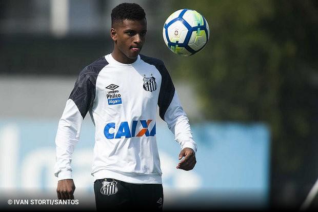 5b2311c264ace Rodrygo vai disputar o título de melhor jogador sub-21 do mundo com outros  nove atletas. O atacante do Santos está entre os indicados pela revista  francesa ...