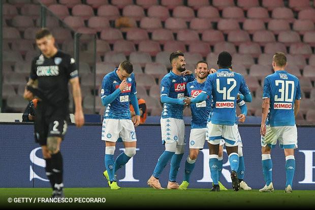 Mertens dá show em goleada do Napoli diante do Empoli    ogol.com.br 73109b1ddb51b