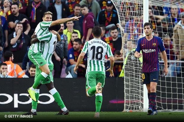 Betis surpreende no Camp Nou e Barcelona segue com liderança ameaçada dc6249da8dd13