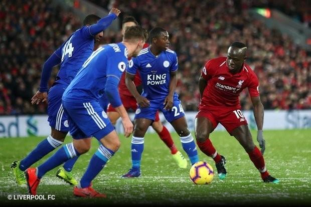 0f563d2db3 O Liverpool acabou tropeçando nesta quarta-feira no Leicester