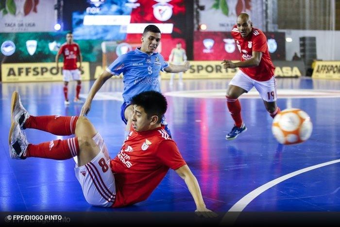 Futsal Azeméis x Benfica - Taça da Liga Futsal 2018 19 - Quartos-de ... 22f36a2e78ad1